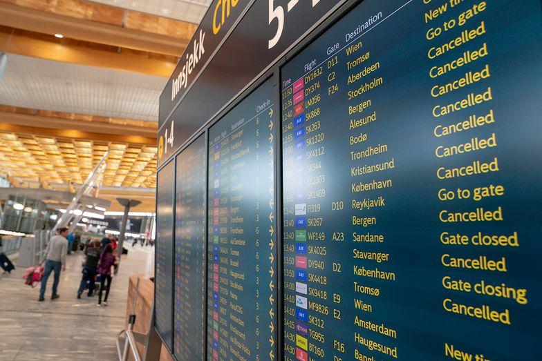 Lotnisko Oslo Gardermoen w Norwegii