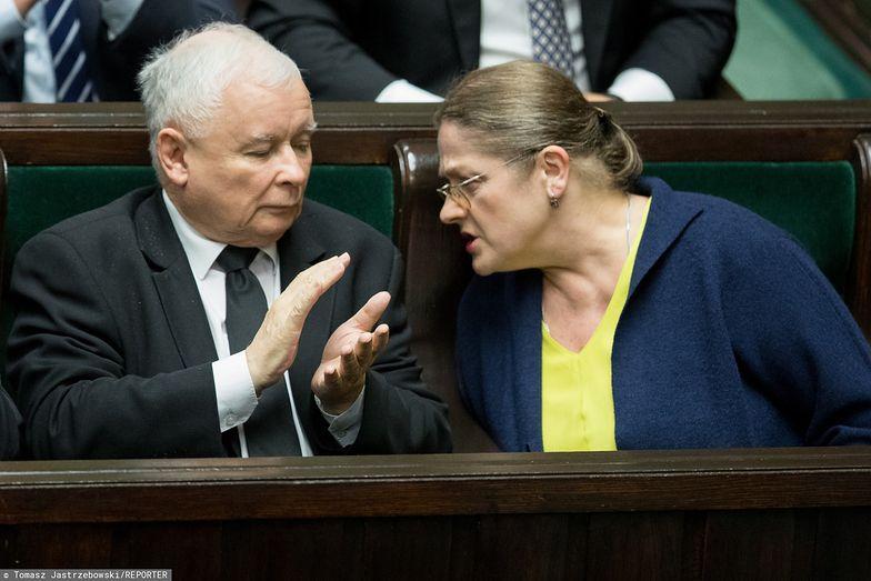 Wybory 2019. Krystyna Pawłowicz studzi nastroje: Poczekajmy