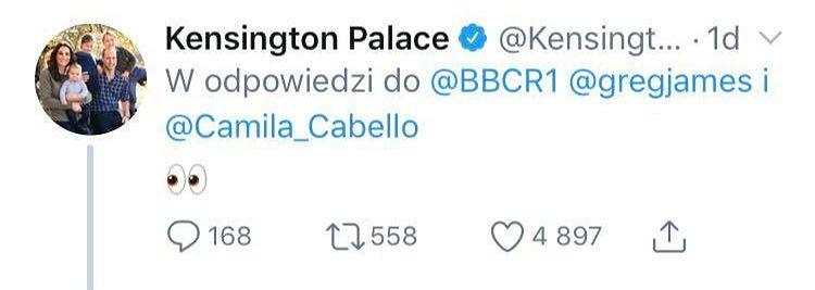 Camila Cabello przyznała się do KRADZIEŻY ołówka z Pałacu Kensington! Jest odpowiedź książęcej pary