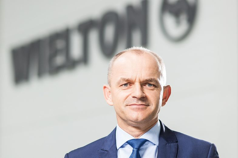 Mariusz Golec, prezes Wieltonu