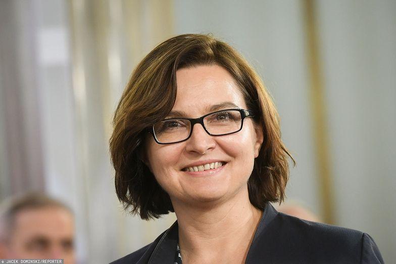 Inauguracja Sejmu. Posłanka pokazała wymowny szalik