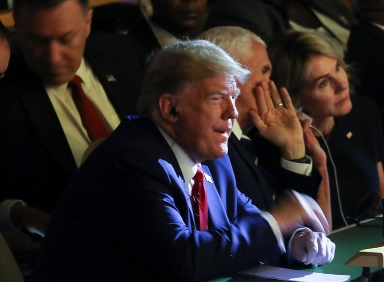 donald trump greta thunberg szczyt klimatyczny ONZ