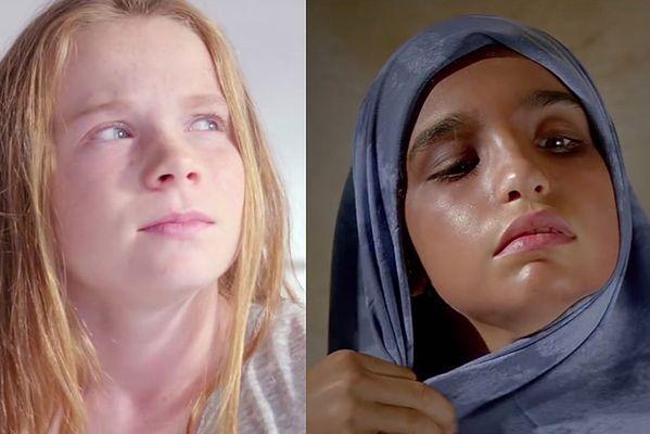 Dziewczynka z Australii i Syrii. Wstrząsające porównanie
