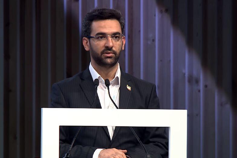 Minister ds. informacji i telekomunikacji Iranu Mohammad Javad Azari-Jahromi