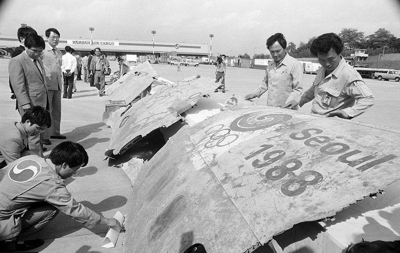 Katastrofa lotu Korean Air 858. Dziennikarze znaleźli wrak boeinga