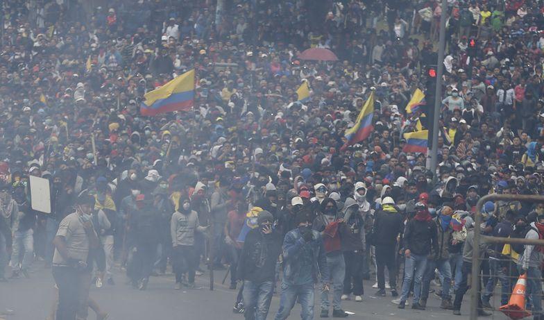 Ekwador. Rząd uciekł ze stolicy po serii protestów