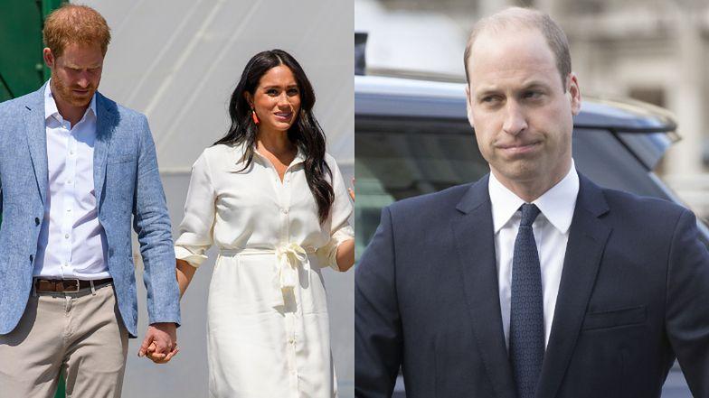 """Meghan Markle i książę Harry czują się wykluczeni z rodziny królewskiej przez... """"ZNĘCANIE SIĘ"""" księcia Williama!"""