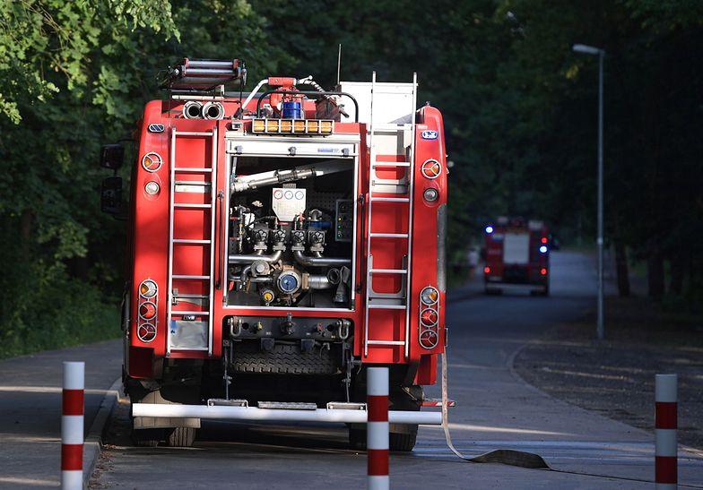 Teren zabezpieczyła straż pożarna (zdj. ilustracyjne)