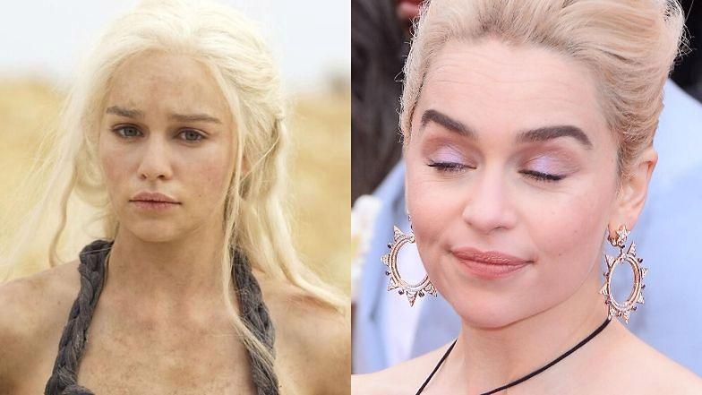 """Emilia Clarke źle wspomina sceny nagości z """"Gry o tron""""."""