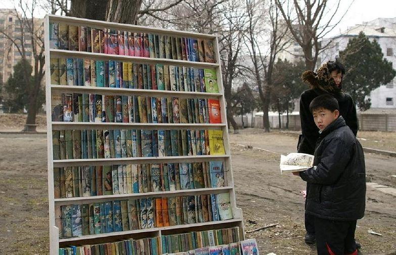 Mają dostęp do niektórych filmów i książek z zagranicy
