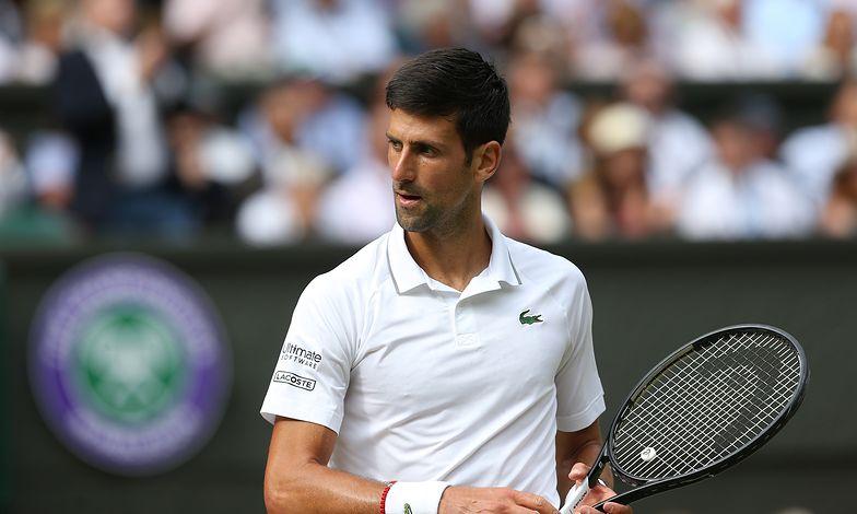 Na zdjęciu: Novak Djokovic