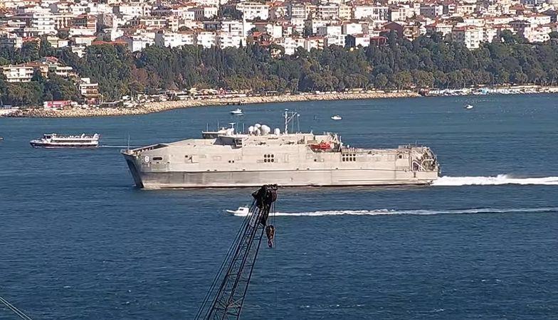 okręt usa USNS Yuma rosja morze czarne
