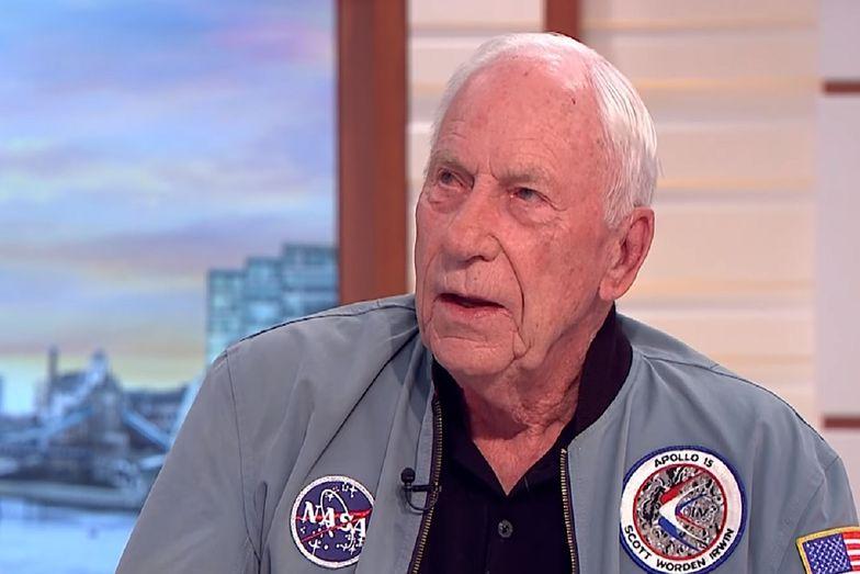 Al Worden, który uczestniczył w misji Apollo 15, zmarł w swoim domu. Miał 88 lat.