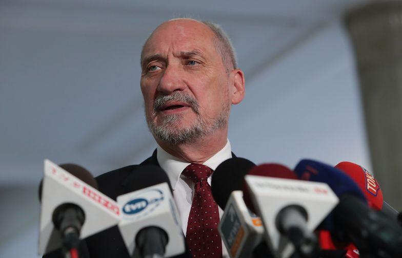 Macierewicz: wojska naszych sojuszników stoją na naszych granicach