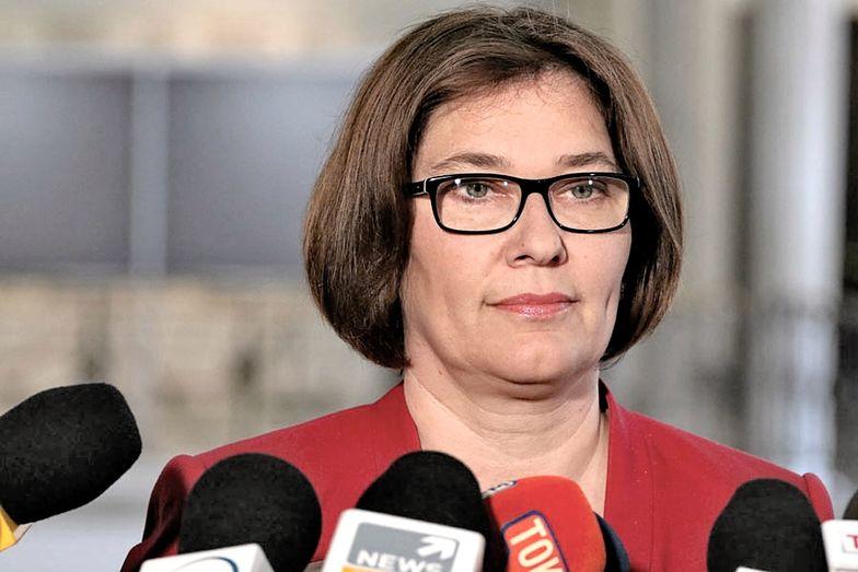 Beata Mazurek ostro w obronie Jarosława Kaczyńskiego