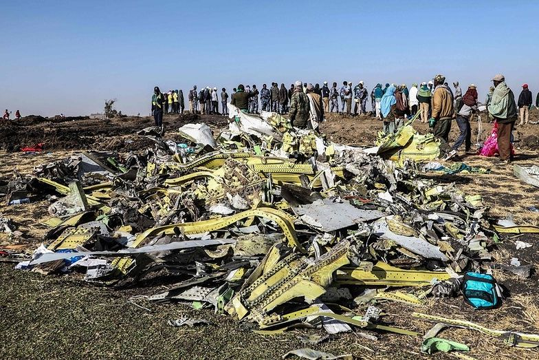 W katastrofie samolotu Ethiopian Airlines życie straciło 157 osób