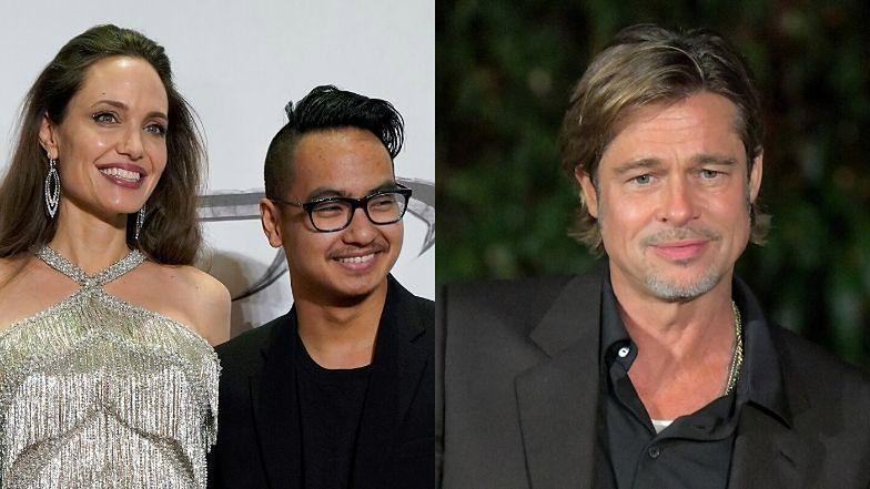 """Brad Pitt nie spotkał się z Maddoxem od rozwodu z Angeliną Jolie. """"Nie mają żadnego kontaktu"""""""