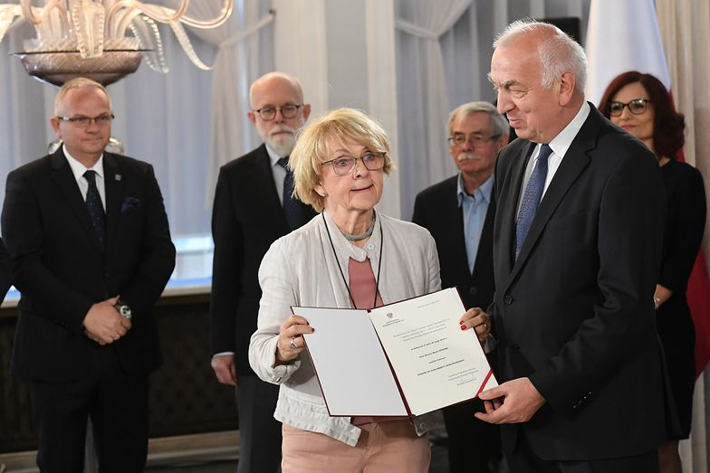 Danuta Huebner ma za złe rządowi, że nie zrobił nic w kwestii happeningu w Katowicach