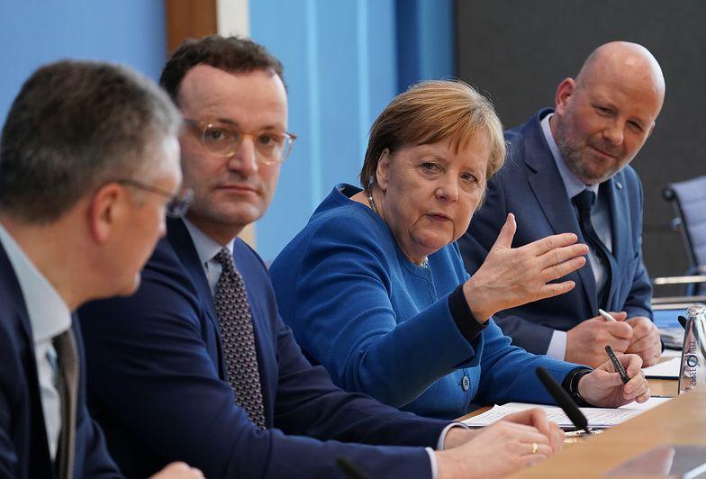 Koronawirus. Merkel: 70 proc. obywateli Niemiec może zostać zarażonych
