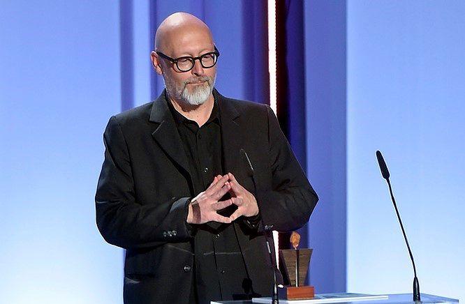 Wojciech Smarzowski na gali wręczenia nagród 43. Festiwalu Polskich Filmów Fabularnych w Gdyni
