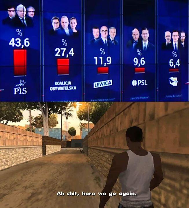 Wybory 2019 - zobacz memy