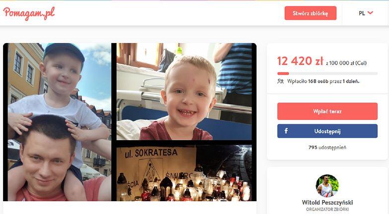Warszawa: Wypadek na Bielanach. Zorganizowano zbiórkę pieniędzy dla rodziny zabitego