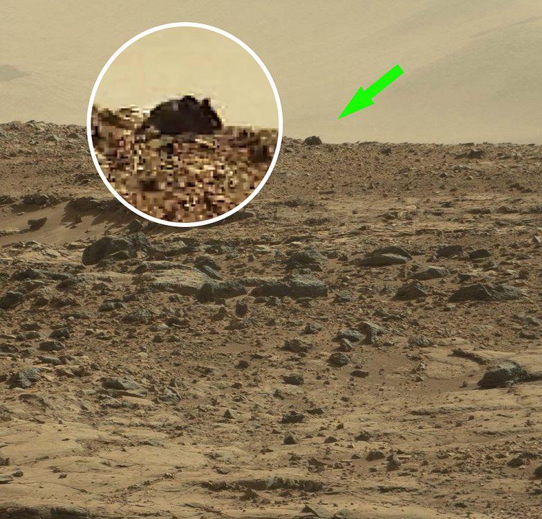 Co to jest? Cały internet wpatruje się w najnowsze zdjęcie z Marsa