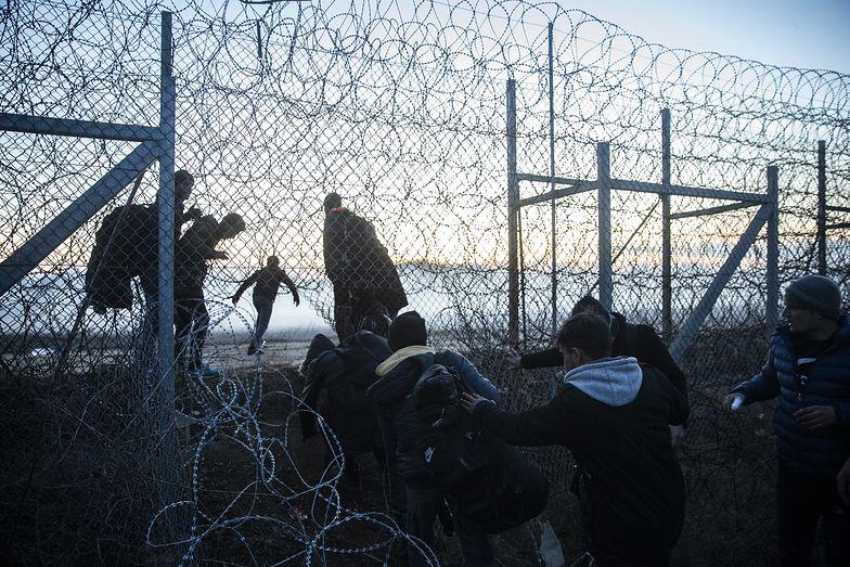 Kryzys migracyjny na granicy Turcji i Grecji.