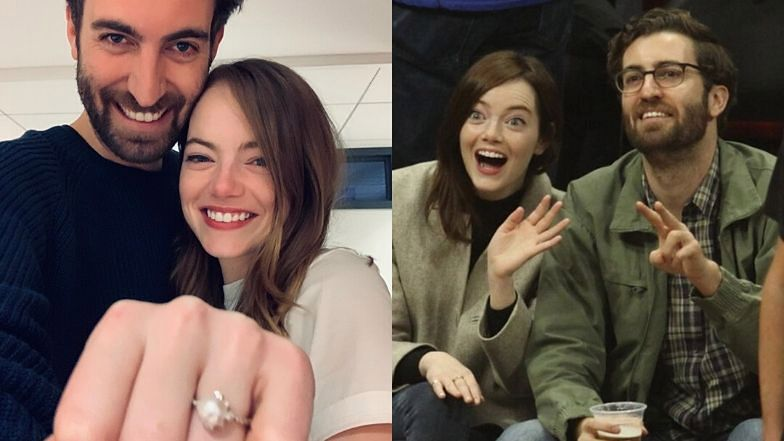 Emma Stone i Dave McCary są zaręczeni.
