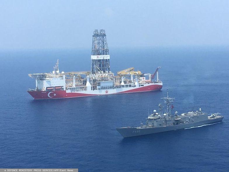 Turcja przechwyciła statek Izraela. Naukowcy musieli uciekać