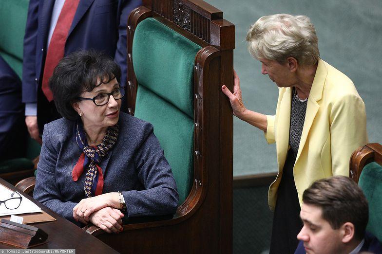 Iwona Śledzińska-Katarasińska: nie mam nic wspólnego z decyzją marszałek Sejmu