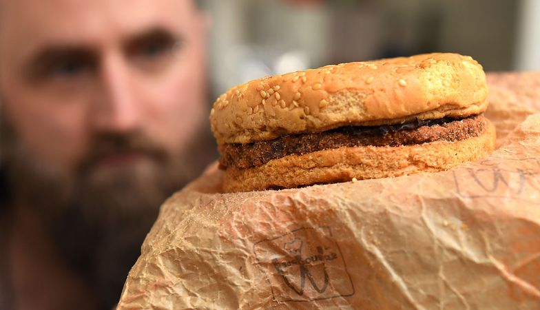Burger z McDonald's z 1995 roku. Nie zepsuł się od 24 lat