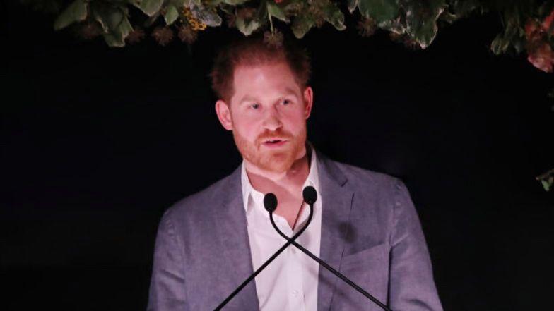 """Książę Harry zabrał głos w sprawie """"Megxitu""""."""