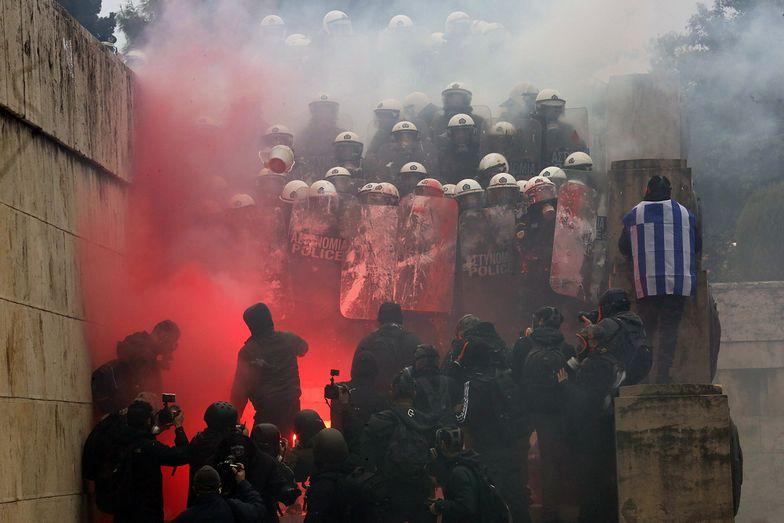 Macedonia zmienia nazwę. W Atenach wybuchły ostre starcia