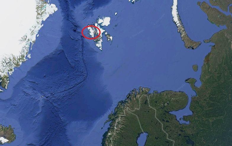 zmiany klimatyczne svalbard norwegia