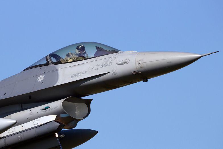 Holenderski pilot F-16 ostrzelał sam siebie. Dokonał niemożliwego