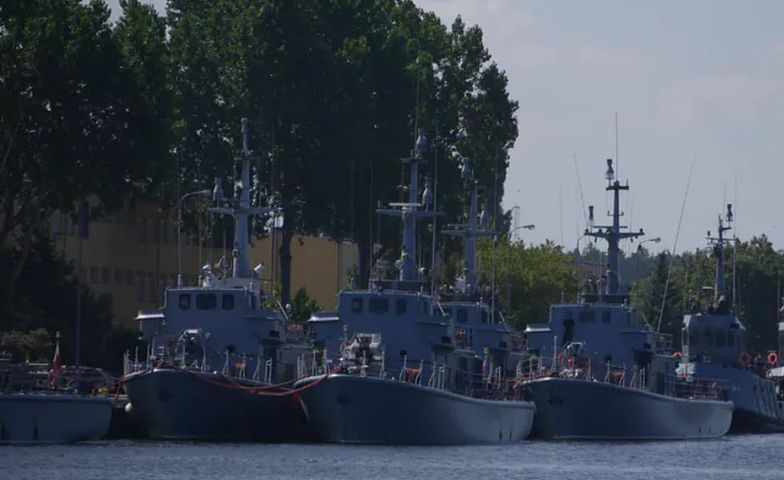 Świnoujście jest jedną z największych baz Marynarki Wojennej.