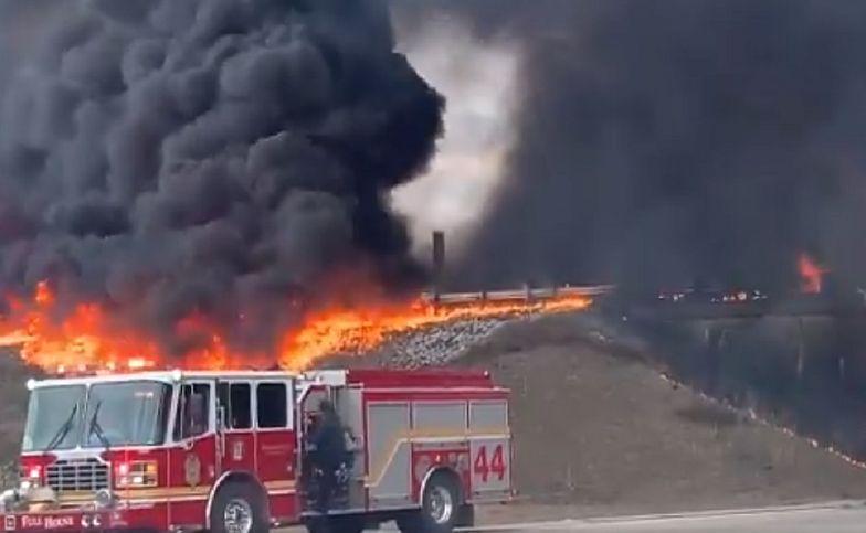 Tuż po wyjściu ze szpitala wyciągnęła mężczyznę z płonącego auta