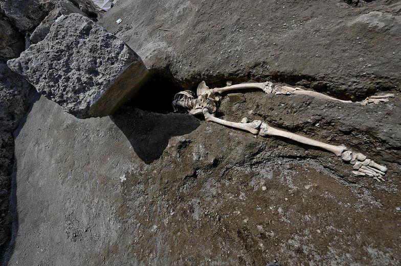 Błąd naukowców w Pompejach