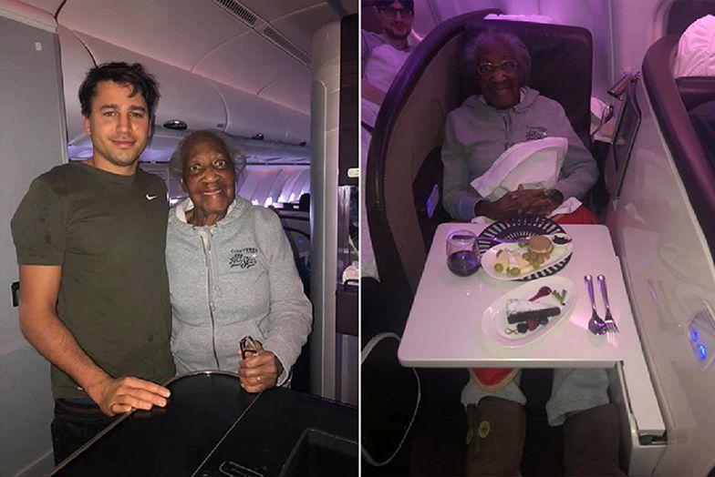 Londyn. Spełnił marzenie staruszki. 88-latka była zachwycona