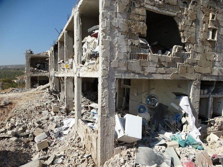 """""""Rosja zbombardowała szpital"""". Wstrząsające informacje z Syrii"""