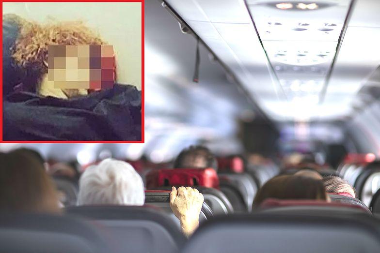 Zdjęcie z samolotu rozpętało burzę. Pasażerka sprytna czy niemądra?