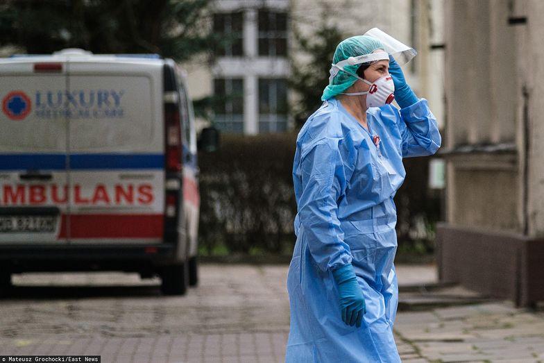 Przyłbice medyczne chronią przed zakażeniem