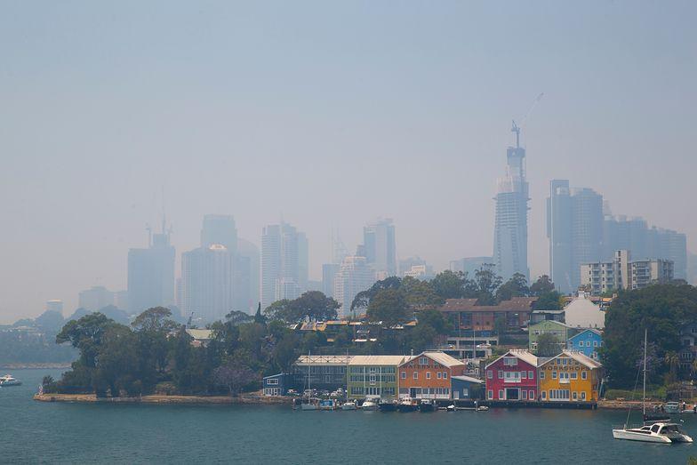 Całe Sydney w dymie
