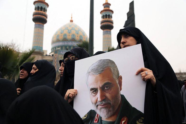 Teheran żegna Kasema Sulejmaniego