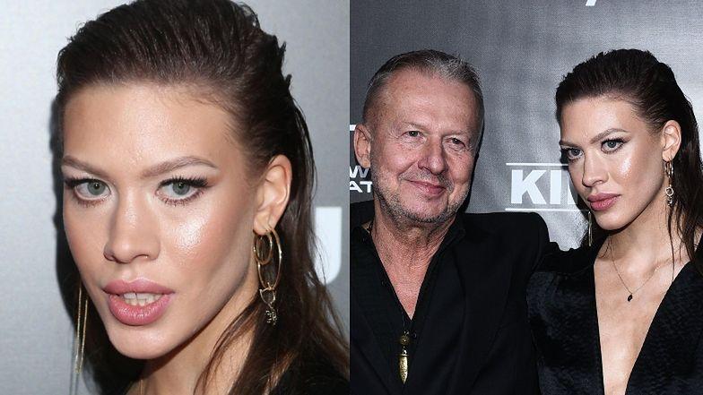 Aleksandra Linda pojawiła się na premierze z mamą i tatą