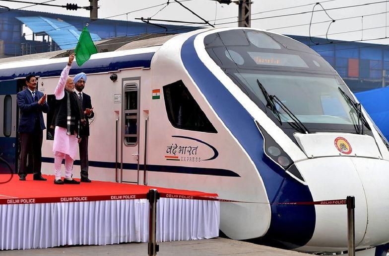 Najszybszy pociąg w Indiach wytrzymał tylko jeden dzień