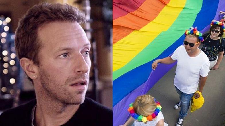 Chris Martin wyznał, że był w młodości homofobem.