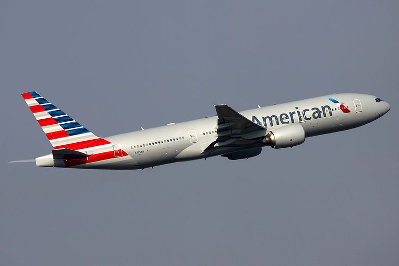 Samolot The American Airlines