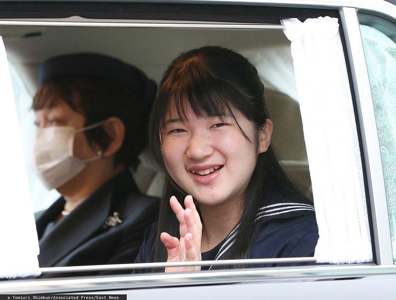 Księżniczka Aiko z Japonii.